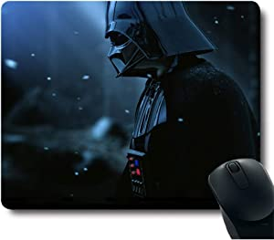 Cool Black Knight Awesome Soldier Classic Movie Unique Design Customized Rectangle Gaming Black Mouse Pad