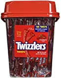 Twizzler Strawberry Twists, Individually wrapped (Pack of 105)