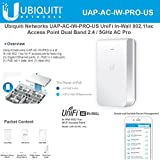 Ubiquiti Network UAP-AC-IW-PRO-US UniFi In-Wall Dual Band Access Point 802.11ac AC Pro