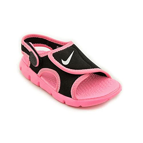 36d14dac40c8b2 Nike Kids Baby Girls Sunray Adjust 4 (Infant Toddler) Black Digital  Pink Pure Platinum Sandal 6 Toddler M  Buy Online at Low Prices in India -  Amazon.in