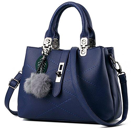 GoodPro Women Bags Women Handbags Elegant Fashion Handbags for Women Totes Purse Shoulder Bags GPG116 Deep Blue