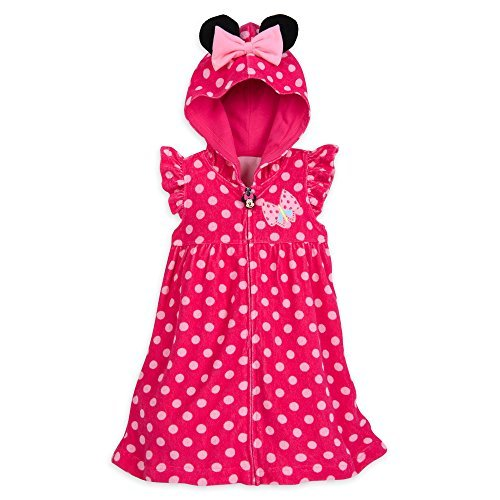 Disney Minnie Mouse Cover-Up for Girls Size (Swim Cover Up For Kids)