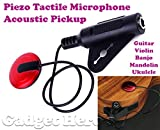 Gadget Hero's Transducer, Acoustic Piezo Tactile Microphone Contact Pickup For Guitar Violin Mandolin Ukulele Banjo.
