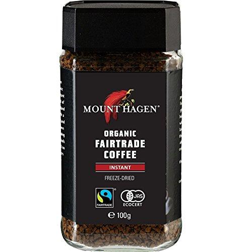 마운트 하겐 유기농 공정 무역 인스턴트 커피 100g 아이스/버터커피용