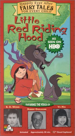 Smiths Riding Hood Red - Little Red Riding Hood - Happily Ever After: Fairy Tales for Every Child [VHS]
