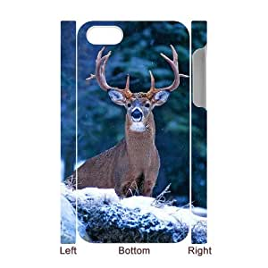 Winfors Deer Phone 3D Case For Iphone 4/4s [Pattern-1]