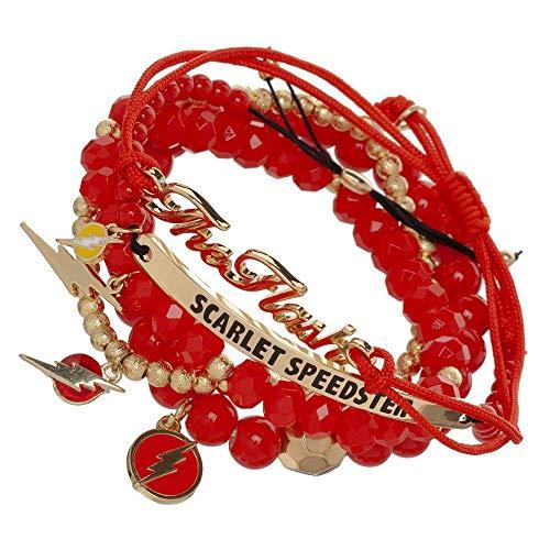 - Flash Bracelet DC Comics Jewelry Flash Accessory - DC Comics Bracelet Flash Jewelry