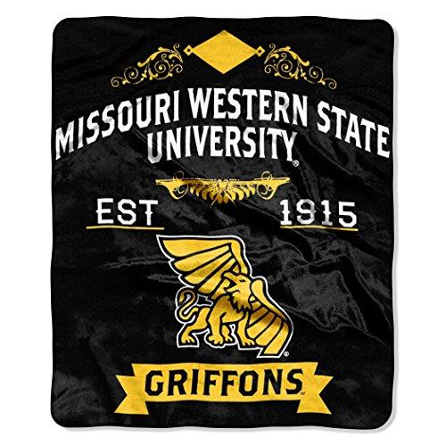 NCAA Missouri Western Griffons Full Body Player Adult Comfy Throw, 48
