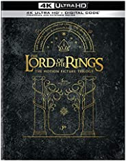 The Lord of the Rings Motion Picture Trilogy Giftset (Extended & Theatrical)(4K Ultra HD + Digi