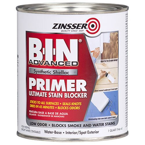 Rust-Oleum Corporation 271009 Advanced Synthetic Shellac Primer, 1-Quart, White
