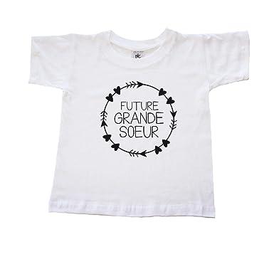 Dstny T Shirt Fille Future Grande Soeur Amazonfr Vêtements Et