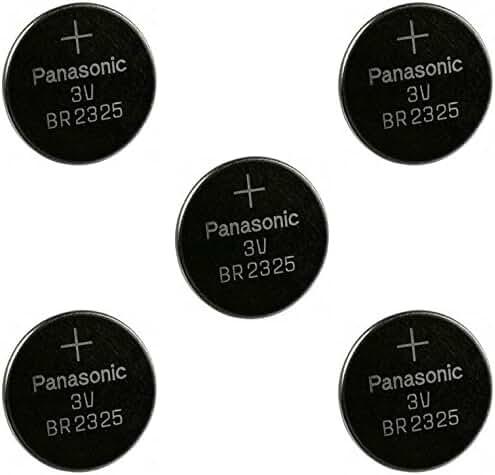 Panasonic BR2325 3V Coin Lithium Battery (5Pcs per Pack)
