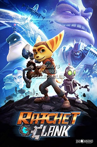 """Price comparison product image CGC Huge Poster - Ratchet and Clank PS4 - EXT290 (24"""" x 36"""" (61cm x 91.5cm))"""