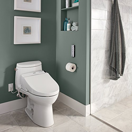 TOTO Washlet C200 Elongated Bidet Toilet Seat with PreMist, Cotton White - SW2044#01 by TOTO (Image #7)