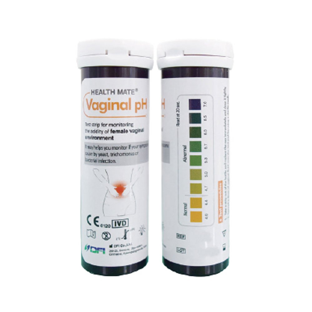 DFI Easy Vaginal Health Ph Test Strips, Pack of 25 Tests, Value Pack, Without Swabs