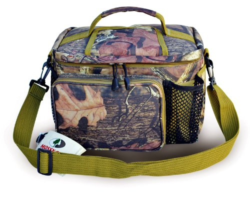 - Explorer M012 Mossy Oak Realtree Like Hunting Camo Top Open Cooler Lunch Bag 12 Can Holder Mini Cooler Mossy Oak Infinity