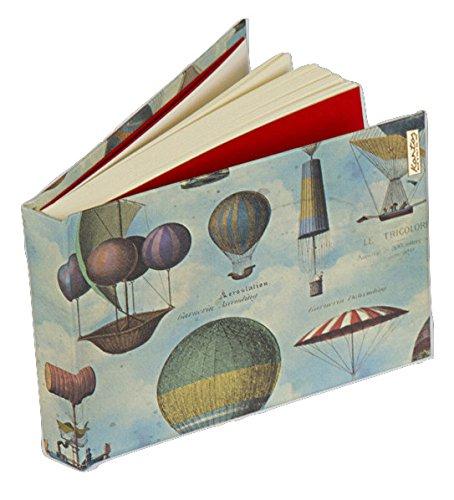 Kartos 01683900Air Balloons Sketch Book A6Made in Italy