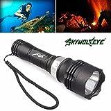 Flashlight,Baomabao 5000 Lumen 60m CREE T6 LED Diving Flashlight Torch Scuba Light Lamp Waterproof