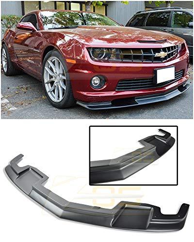 Extreme Online Store for 2010-2013 Chevrolet Camaro SS Models | EOS TL1 Style ABS Plastic Primer Black Front Bumper Lower Spoiler Lip Splitter