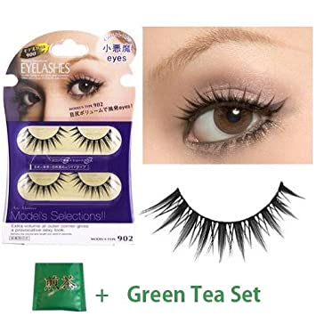 bb99c1f057e Amazon.com : D.U.P False Eyelashes Effect - Small Devil Eyes 902 ...