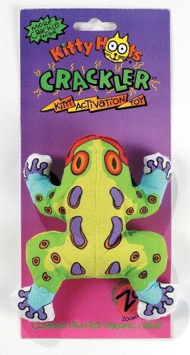 Fat Cat Kitty Hoots Crackler Original Frog