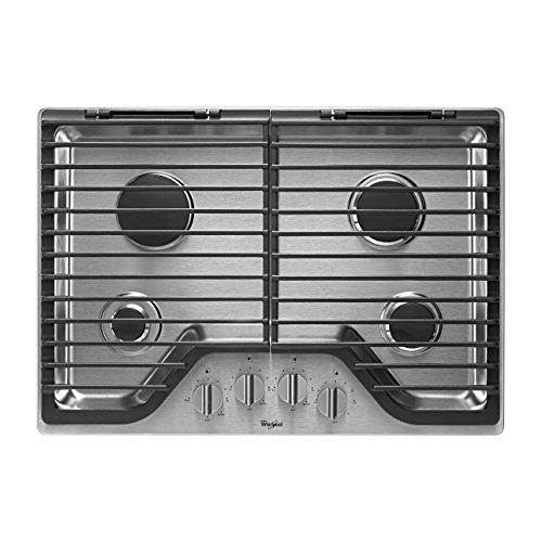 whirlpool 4 burner gas cooktop - 3
