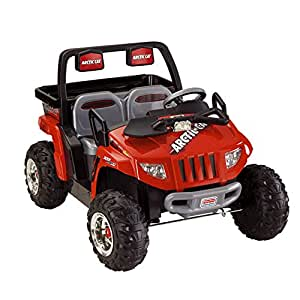 Power Wheels Fisher-Price Red Arctic Cat Ride On
