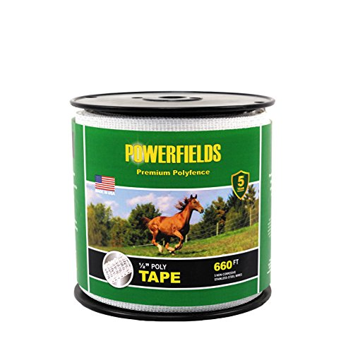 Powerfields EW5-660 1/2-Inch Wide 5 Wire Polytape, 660-Fe...