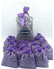 1/2 Pound & 20 Empty Sachet Bags Fragrant Lavender Buds Dried Lavender Sachets Drawers Freshener Home Fragrance. 8 Oz & 20 Empty Sachet Bags. Lavender Import from France.
