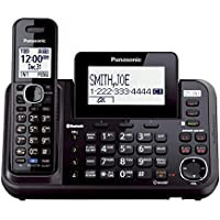Panasonic KX-TG9541B Link2Cell Bluetooth Enabled 2-Line Phone with Answering Machine & 1 Cordless Handset (Certified Refurbished)