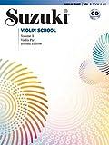 Suzuki Violin School Violin Part and CD Vol 1