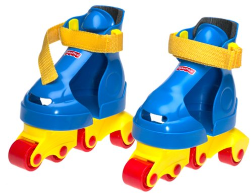 Fisher Price My First Skates - Blue/Yellow by Fisher-Price
