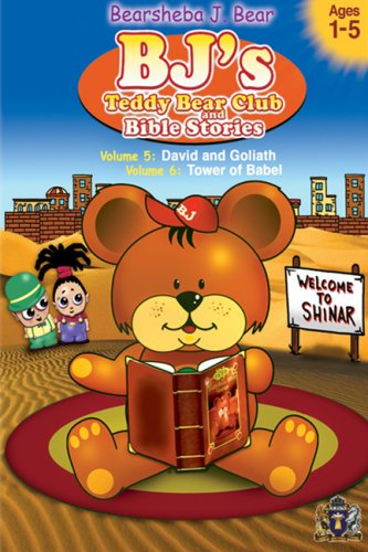 Amazon.com: BJ's Teddy Bear Club and Bible Stories Volumes 5 & 6 ...
