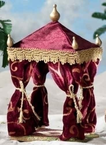 Fontanini 10-1/2-Inch 2-Piece Set- Kings Tent and - Outdoor Fontanini Nativity
