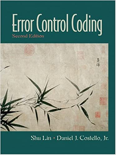 Introduction To The Theory Of Error-correcting Codes Pdf