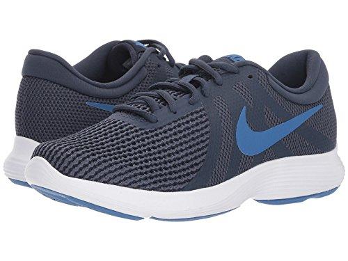 交じるコミットストレス[NIKE(ナイキ)] レディースランニングシューズ?スニーカー?靴 Revolution 4 Dark Obsidian/Mountain Blue/Thunder Blue 9.5 (26.5cm) B - Medium