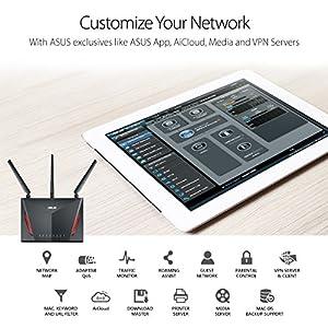 Asus AC2900 WiFi Dual-band Gigabit Wireless Router - Rt-AC3200 vs  Netgear  X6 vs  D-Link AC3200 ***updated 4/14***