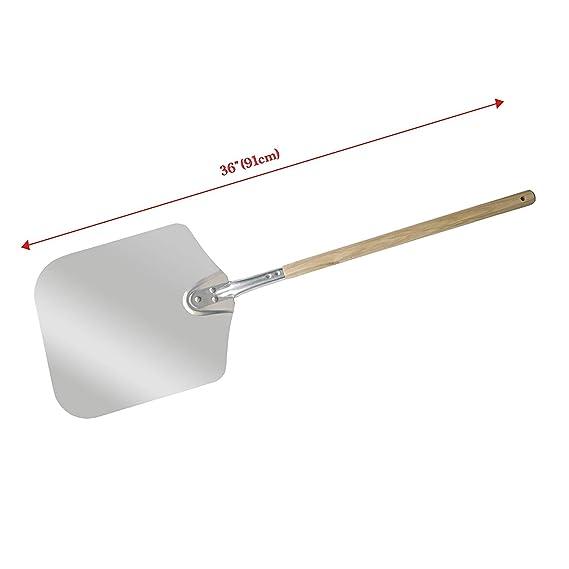 Chef Prosentials Long handle square wooden shank pizza shovel Pizza oven used shovel 36