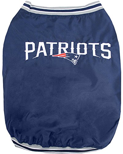 (Pets First New England Patriots Jacket, Small)