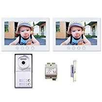 Multifamily Video Entry System 2 Wire Installation Two Button