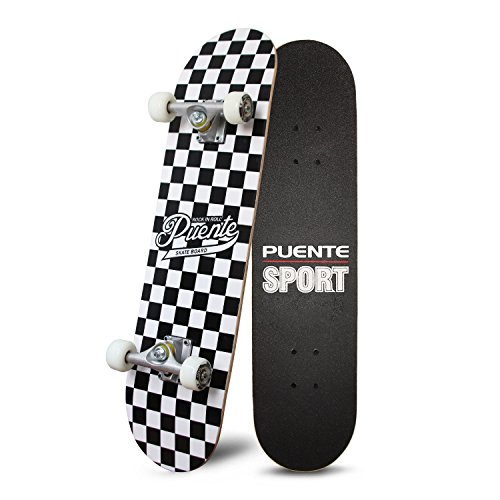 (PUENTE Pro Cruiser Complete Skateboard 31 Inch)
