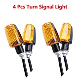Motorbike Turn Signal Light - TOTMOX 4PCS LED