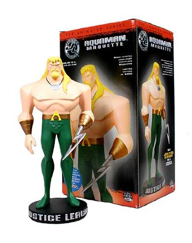 Aquaman Animated Maquette Full Größe Statue by DC Comics