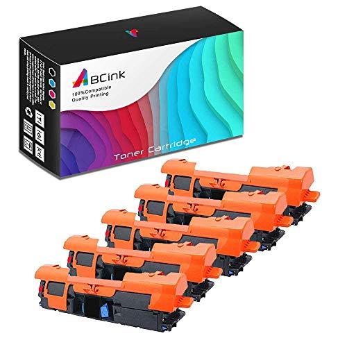 ABCink C9700A 121A Toner Compatible for HP Laserjet C9700A C9701A C9702A C9703A C9704A Printer Toner Cartridge,5000 Yields(5 Pack,Black)