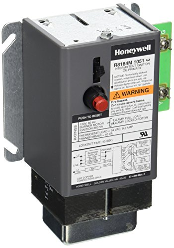 Honeywell R8184M1051 Relay Oil Burner Control 45 Sec
