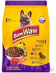 Ração Baw Waw para cães pequeno e médio porte sabor Carne e Frango 15kg