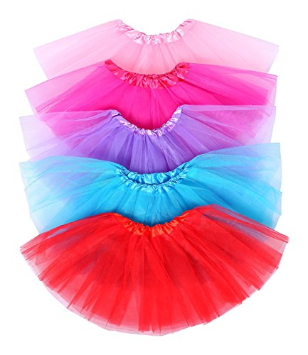 5 Pack Collection of Princess Tutus