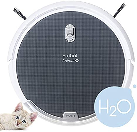 AMIBOT Animal H2O – Un Robot Aspirador pensado para aspirar el Pelo de Las Mascotas: Amazon.es: Hogar