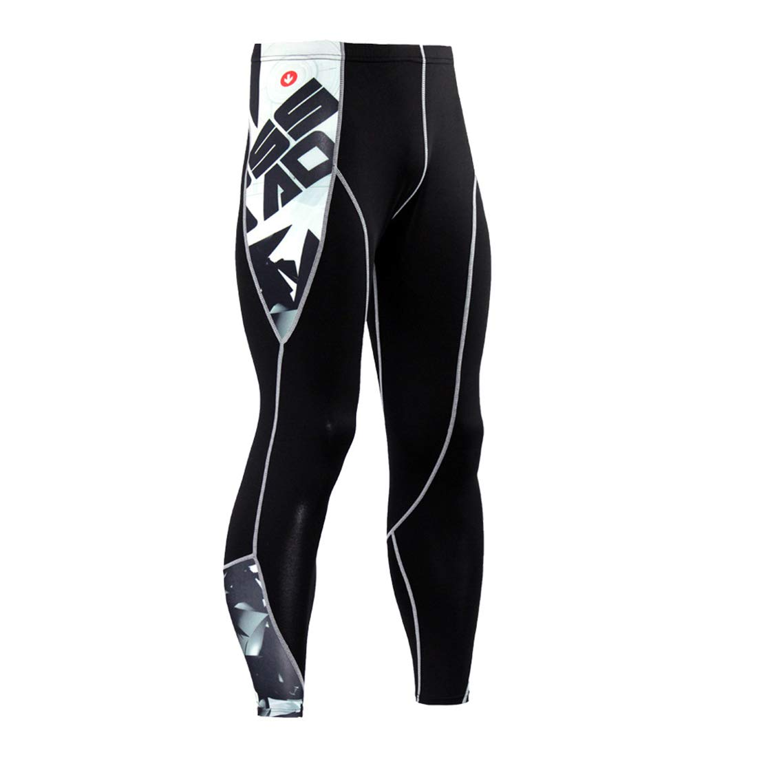 Base Layer Men's Leggings Compression thermal Fitness Pants Tights Leggings for Cycling Running Hiking Gym