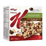 Kellogg's Special K Nourish Dark Chocolate Chunks & Almonds Bar, 5 bars, 165g,
